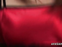 Anal threesome with asian girlfriend