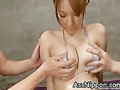 Hot Asian Babe gets Pussy and Anus part1