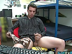 Hot ex boyfriend caught jerking part2