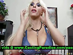 Holly Halston amateur horny busty blonde