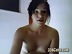 Tiny Titty Teen Girl On Webcam