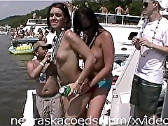 Hot Sorority Girls Partying on Boats Part 2