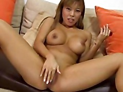 Asian amateur and big black cock
