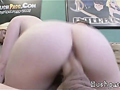 Petite Blonde Teen Jules Creams On A Massive Cock!