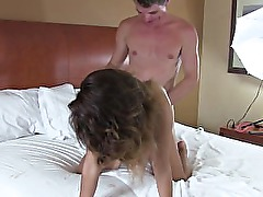 Teen Indian Gets Some Older Man Love In The Hotel Room