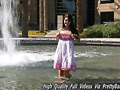 Racquel amateur she s a cute total first timer only 18