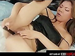 Asian Has an Incredible Orgasm