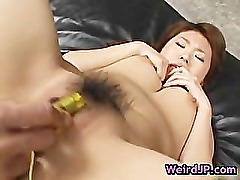 Megu hayasaka gets filled in all holes part2