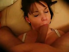 Chubby Mature Sucks And Swallows