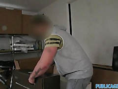 PublicAgent British housewife abroad and fuck