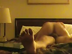 Amateurs in a hotel room first time video!