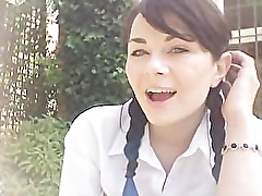 Amateur School Girl Smoking (no nudity, smokers only)