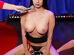 busty hottie tera patrick takes a ride on the sybian