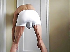 Fist Fucked Ass and Stretched Anus and Shaved Cock Play