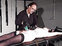 Bondage rack torture and amateur bdsm