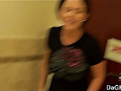 Loni Evans Blows In Public Bathroom