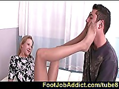 Sydney Cross foot job therapy