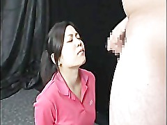 Asian gets massive facial