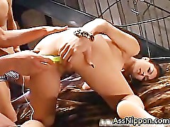 Beautiful Japanese Teen Gets Her part1