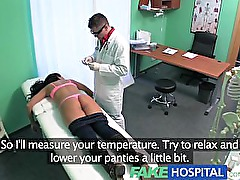 FakeHospital Super sexy curvy blonde accepts dirty doctors offer