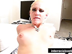 Naughty Niki has her hands full in this interracial casting