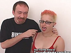Punk Chick Fucks Glass Toy and Dirty Ds Cock!