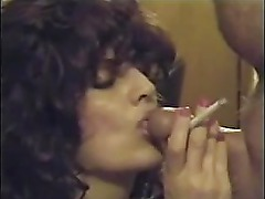 Retro Smoking Blowjob & Cumshot