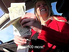 Amateur Eurobabe Lucie banged for money