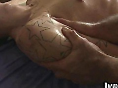 Amateur guy handjob