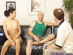 Super hot Japanese babes doing weird sex part5