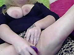 Blue-eyed and big-titted blonde Kiraxxx Sweet