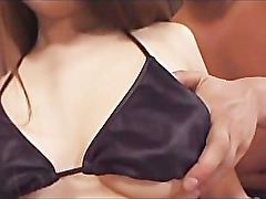 avmost.com - Gorgeous Japanese babe gets nasty with her manÂ&