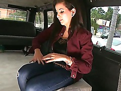 Where can you find a girl that is ready to fuck without love or obligations Of course in the neighborhood. Aria Rae steps on the bang bus and rides into a sexual nightmare.