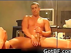 Horny amateur guys jerking off part4