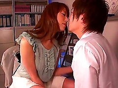 Sexy hot Asian teacher Arisa Sawa is an obsession of all the college students craving to get in fucking touch with the whore! This student tries his luck and gets all way treated with juicy hairy pussy!