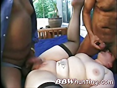 Hot amateur BBW Threesome