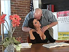 Dylan Ryder Teacher&#039 s Neck Massage Turns Into Total Body Sex Workout - HD