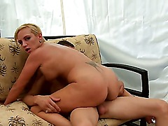This innocent looking blonde whore Skyla Paris poses a real threat to any cock! Enzo Lorenzo dare tries her pussy and gets into fucking trouble as this insatiable cunt will fuck his cock till fullest exhautsion!