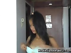 Dildoing asian teen rammed hard part6