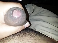 Hot Latino Jerking off In Bed. cumshot