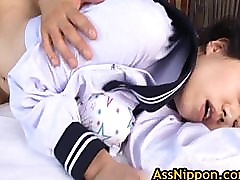 Hot Asian Schoolgirl Has an Amazing part3