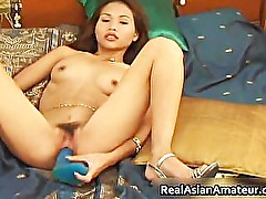Asian amateur cutie dildo fucking her part6