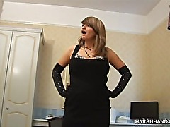 Lola lol gives a harsh handjob (full video)