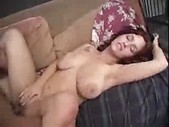 Busty redhead gf fucked in different positions