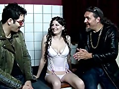 Brunette real dutch hooker sucks on dick