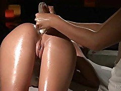Massage Lesbians and Enema
