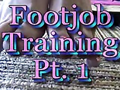 Foot Job Training
