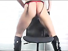 Amateur Blonde Masturbation and Anal