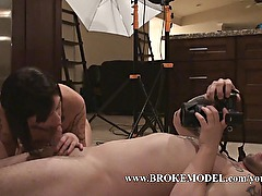 First Time Model Gets Tricked Into getting Fucked