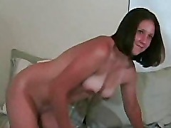 Homemade sex with lusty couple ended with cumshot!